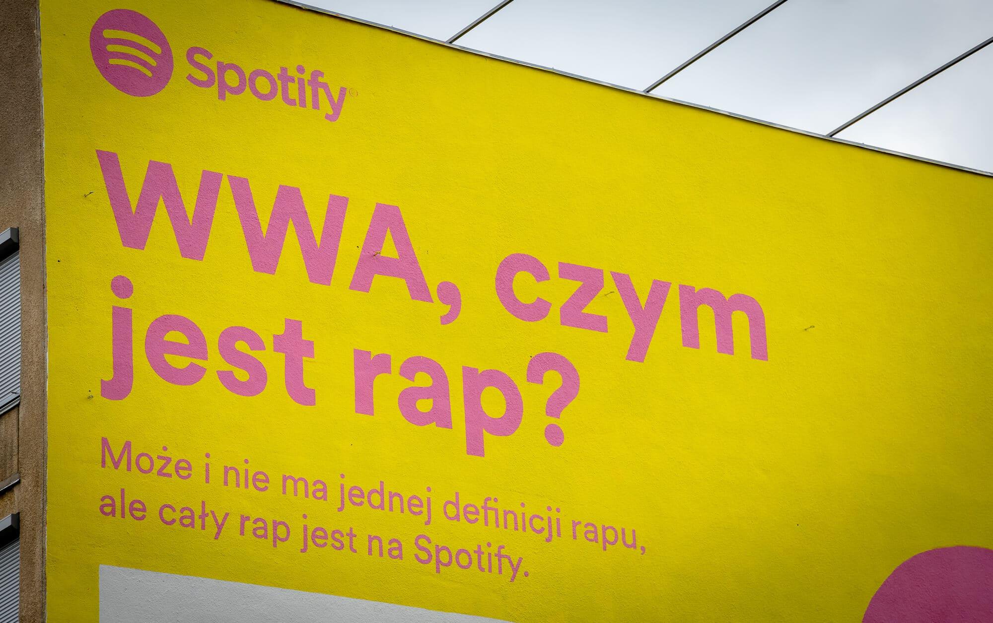 Namalowaliśmy murale dla Spotify!