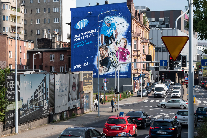 Pierwszy z pięciu eko murali Sii Polska już gotowy!