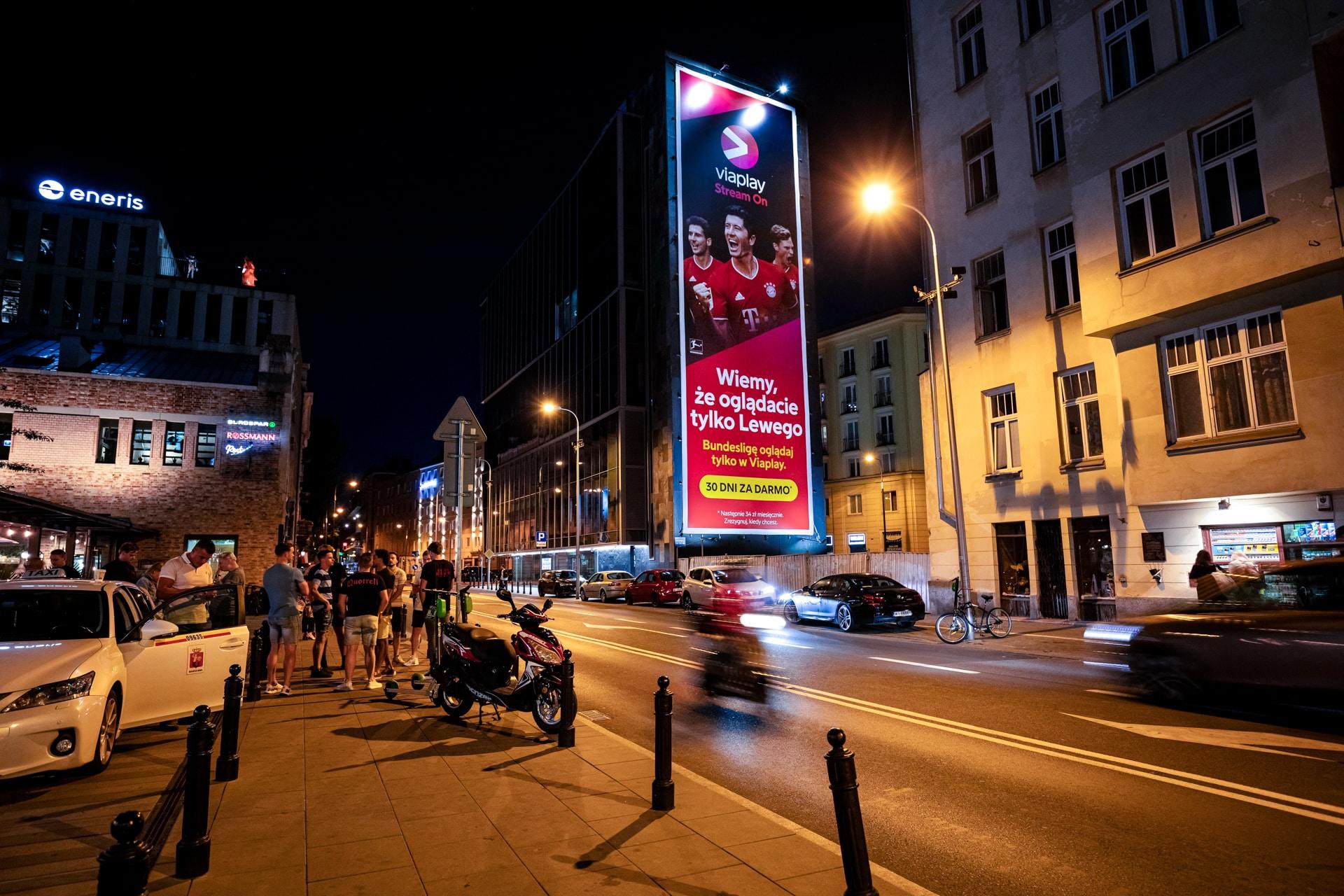 Viaplay w Warszawie